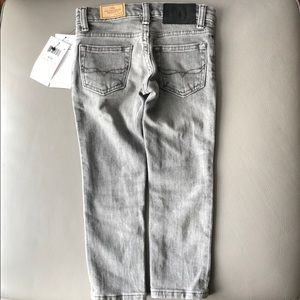 Polo RL Gray Skinny Jeans Size 3T NWT